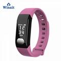 E29 ip67 waterproof heart rate, blood pressure smart bracelet/wrist band 4