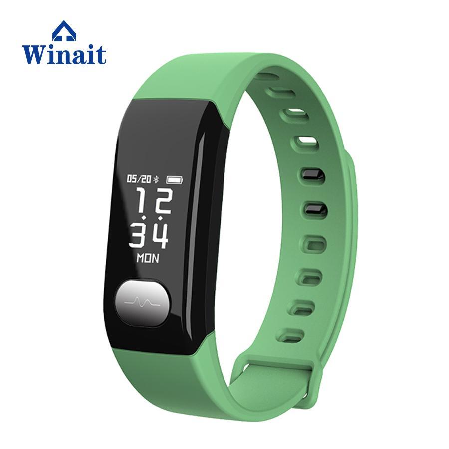 E29 ip67 waterproof heart rate, blood pressure smart bracelet/wrist band 5