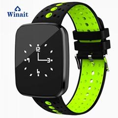 v6智能藍牙手錶,血壓,心率防水