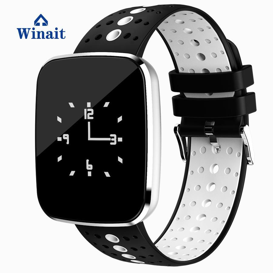 v6智能蓝牙手表,血压,心率防水 3