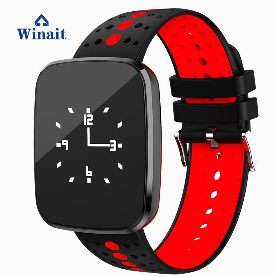 v6智能蓝牙手表,血压,心率防水 5