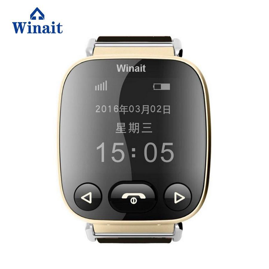 H01 GSM smart watch phone , elder gps tracker heart rate blood pressure watch 2