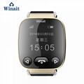 H01 GSM smart watch phone , elder gps tracker heart rate blood pressure watch