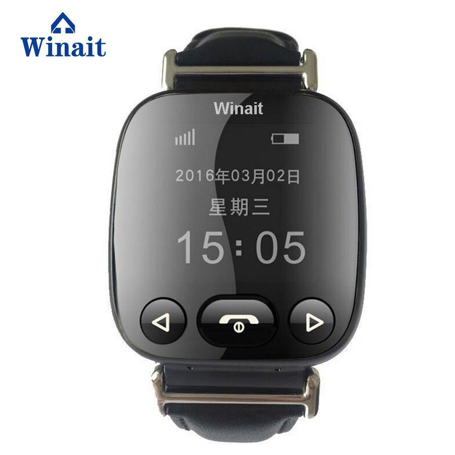 H01 GSM smart watch phone , elder gps tracker heart rate blood pressure watch 3