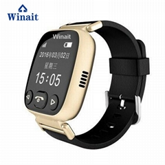 H01 GSM smart watch phone , elder gps tracker heart rate blood pressure watch