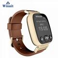 H01 GSM smart watch phone , elder gps tracker heart rate blood pressure watch 5