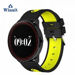 M98 sports heart rate smart watch/blood pressure test phone watch