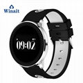 M98 sports heart rate smart watch/blood pressure test phone watch