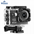 A6 cheap gift 1080p waterproof action camera