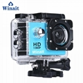 A6 cheap gift 1080p waterproof action