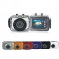 DV123SD HD720P Waterproof action camera 3