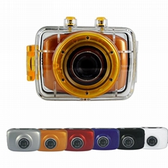 DV123SD HD720P Waterproof action camera