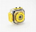 full hd1080p waterproof cheap gift kids action camera digital camera
