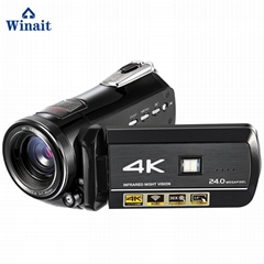 winait  4k digital video camera , wifi night vision digital camcorder
