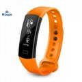 C07 ip68 Heart rate smart bracelet with