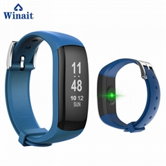 p6 plus ip67 waterproof heart rate smart bluetooth fitness band