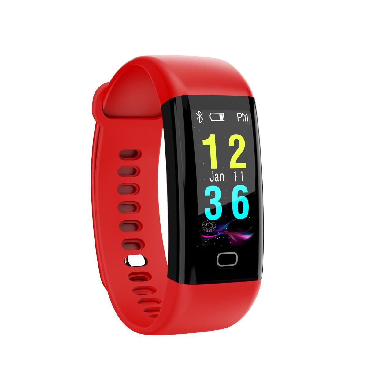 F07 IP68 防水彩屏手环,心率,血氧,血压 2