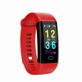 F07 color display ip68 waterproof digital bluetooth band with heart rate 2