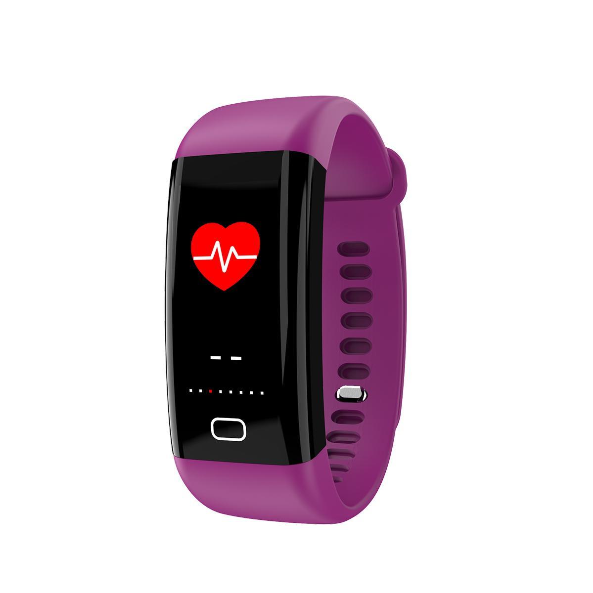 F07 IP68 防水彩屏手环,心率,血氧,血压 5