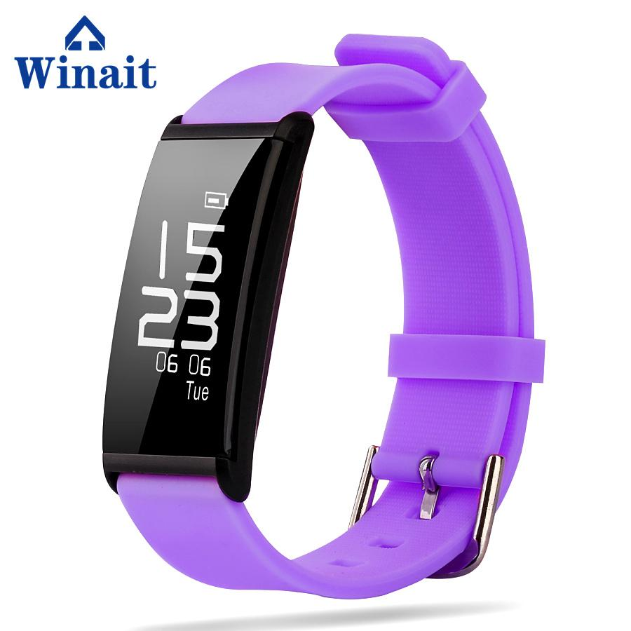 X9 IP67 Heart rate, Blood pressure silicone bracelet pedometer 1