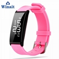 X9 IP67 Heart rate, Blood pressure silicone bracelet pedometer 2