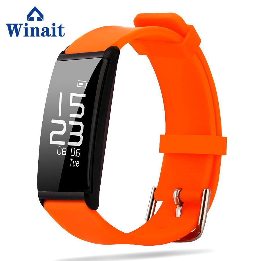 X9 IP67 Heart rate, Blood pressure silicone bracelet pedometer 3