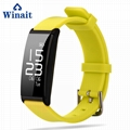 X9 IP67 Heart rate, Blood pressure silicone bracelet pedometer 4