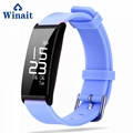 X9 IP67 Heart rate, Blood pressure silicone bracelet pedometer