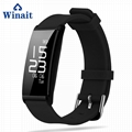 X9 IP67 Heart rate, Blood pressure silicone bracelet pedometer 6