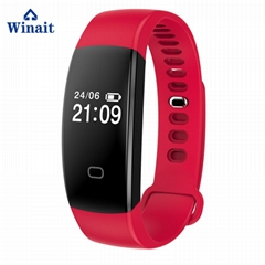 F08 HR ip68 waterproof smart bracelet heart rate band