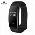 F08 HR ip68 waterproof smart bracelet heart rate band