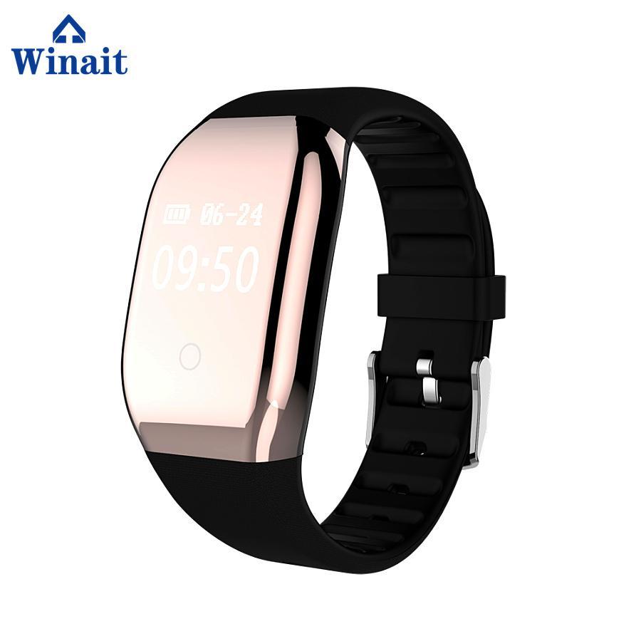 608HR ip68 waterproof smart bracelet heart rate band 1
