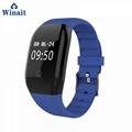 608HR ip68 waterproof smart bracelet heart rate band 2