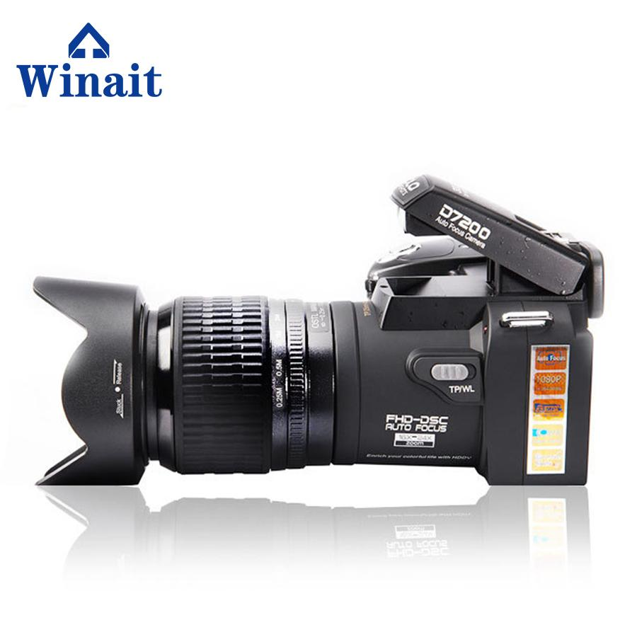 33MP DSLR digital video camera with 3.0'' TFT display
