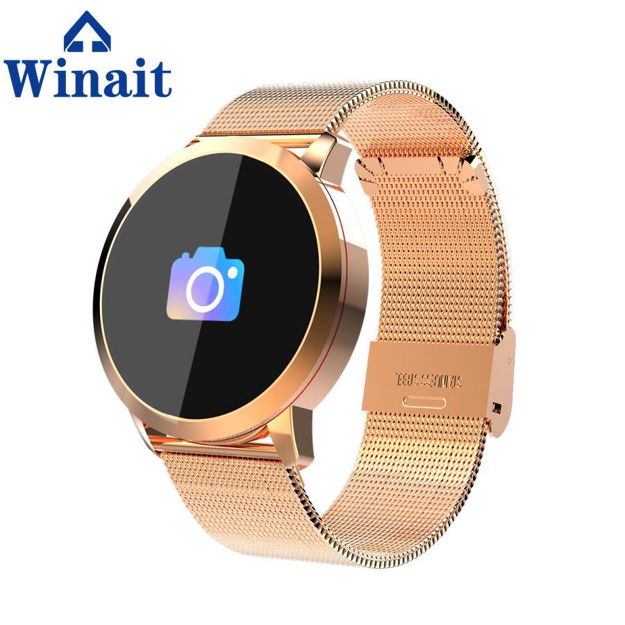 Q8 ip67 Waterproof smart watch phone with color display