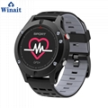 F5 GPS heart rate smart watch with touch display