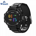 F7 GPS heart rate smart watch with touch display