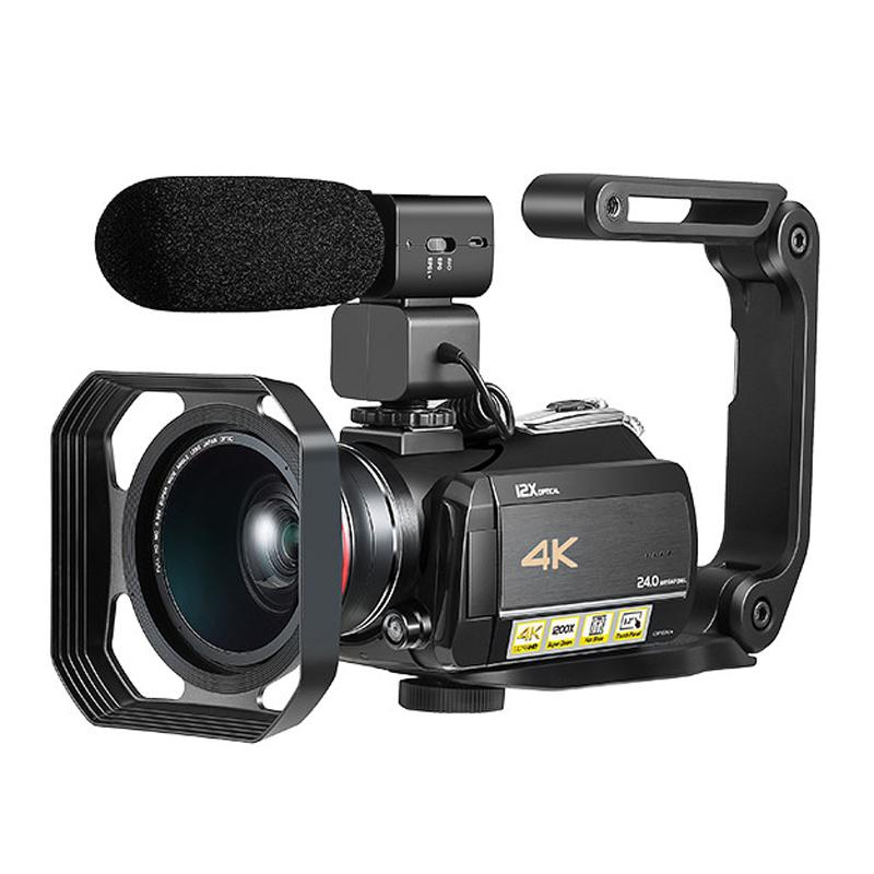 NEW UHD 4K Digital video camera with 12x optical zoom digital video camcorder