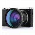 2400萬像素數碼相機,4.0英吋觸摸屏