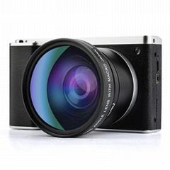 2400万像素数码相机,4.0英寸触摸屏