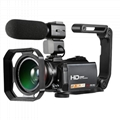 WINAIT full hd 1080p digital camcorder/24MP digital video cmaear