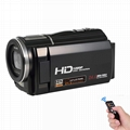 FHD 1080p digital video camera/24mp digital camcorder with 3.0'' touch screen