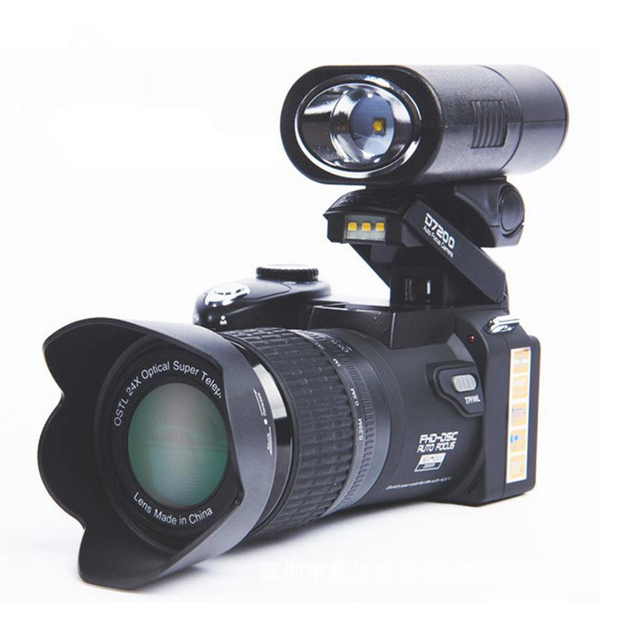 33MP  digital SLR video camera with 3.0'' TFT display
