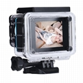 A8 full hd 1080p waterproof sports camera with 120 degree wide angle
