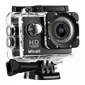 A6 cheap gift 1080p waterproof action camera  4