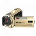 24MP mega pixels digital video camera with night vision and touch display