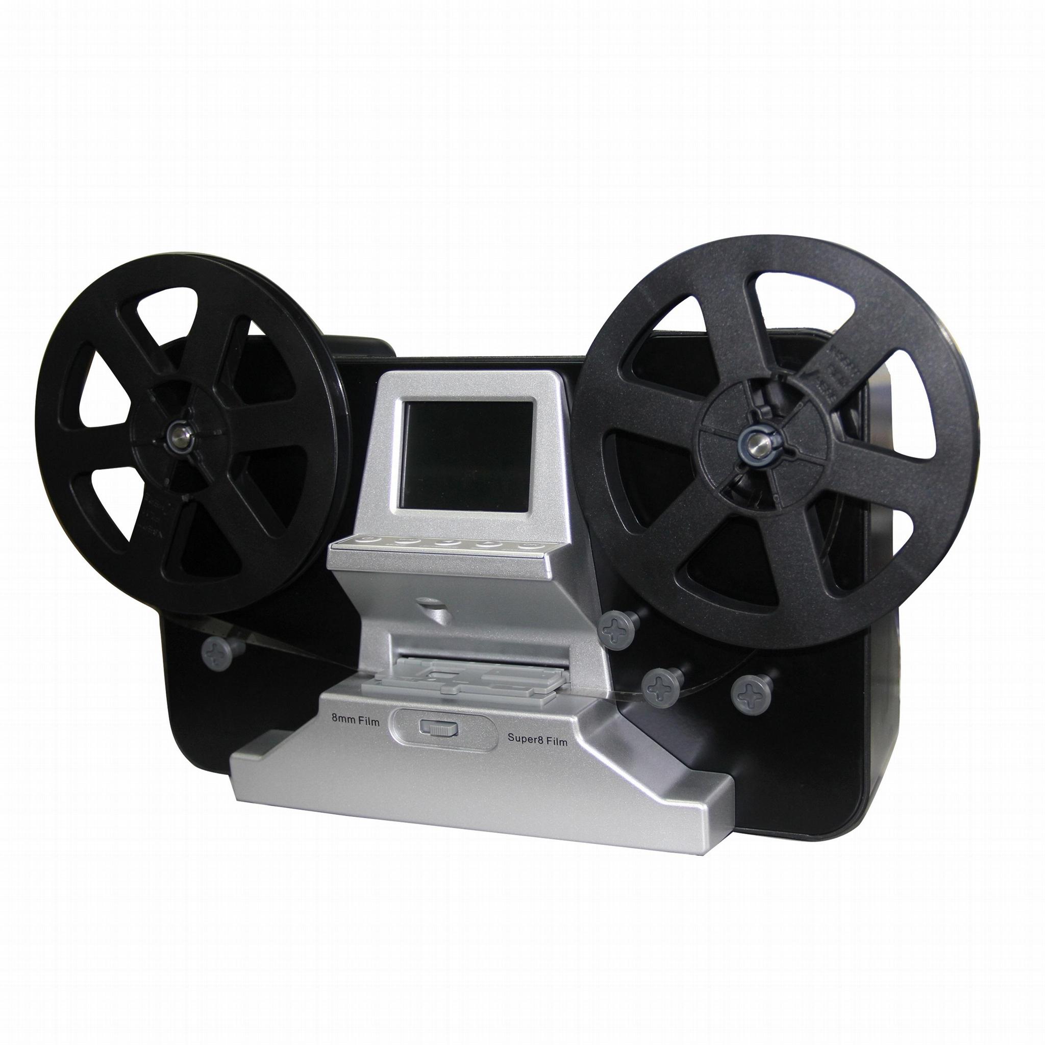 8毫米/ 超8 底片掃描儀,  支持7寸的膠片盤 1
