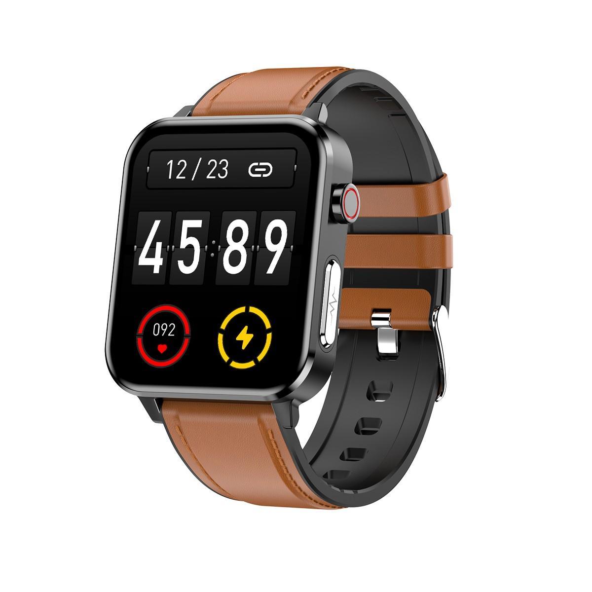E86 digital bluetooth fitnesss sports healthy inspection smart watch 4