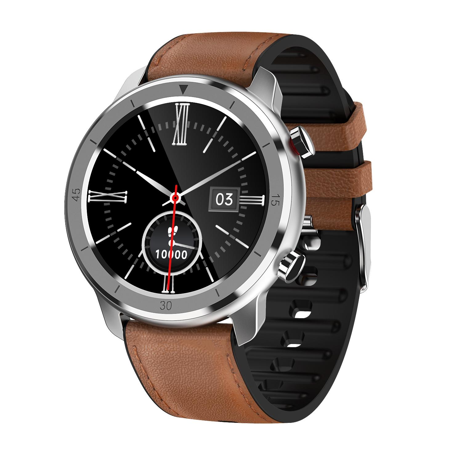 M97 round digital smart watch phone can answer call 2