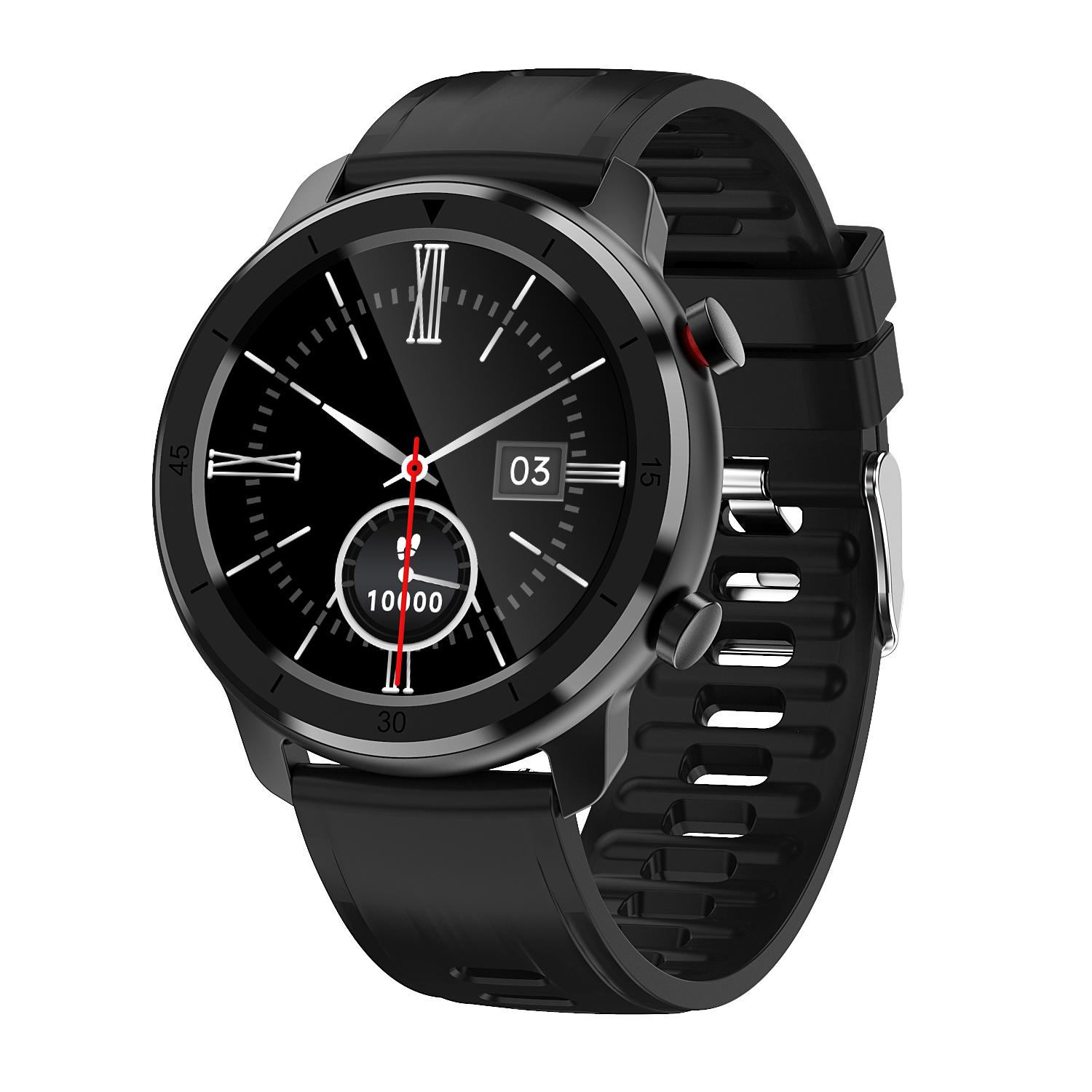 M97 round digital smart watch phone can answer call 4